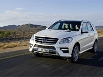 Mercedes-Benz M-Class Achieves Top Safety Pick