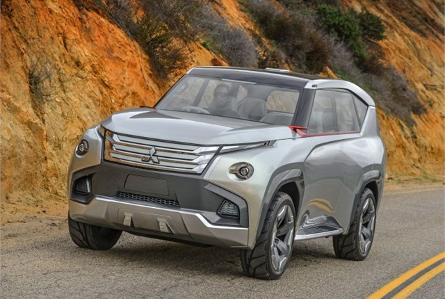 Photo of GC-PHEV courtesy of Mitsubishi.
