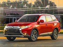 2016 Mitsubishi Outlander SUV Gets Bolder Look