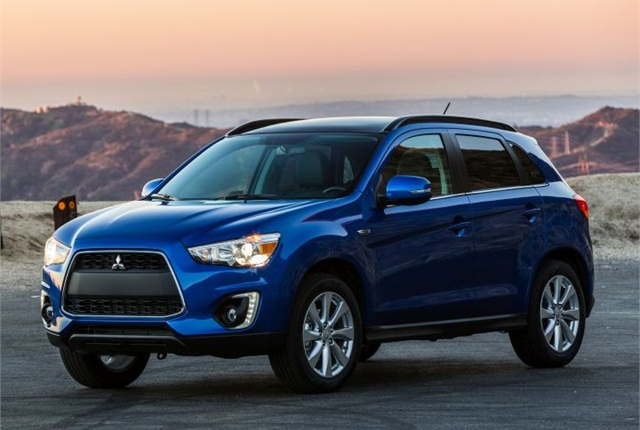 Photo of 2015 Outlander Sport courtesy of Mitsubishi.