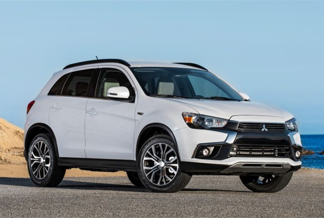 Photo of 2016 Outlander Sport courtesy of Mitsubishi.