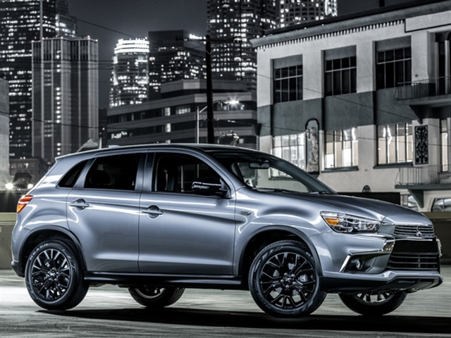 Photo of 2017 Outlander Sport LE courtesy of Mitsubishi.