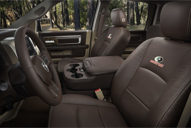 Seats are available in espresso Tuscany-colored Katzkin leather seats.