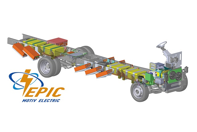 Photo of EPIC F59 chassis courtesy of Motiv.