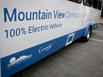 EV Shuttle Buses Deployed in Mountain View, Calif.