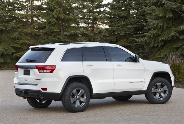 Photo of Jeep Grand Cherokee courtesy of FCA US.
