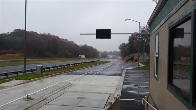 Truck inspection facility reopens on i 83 in maryland for Maryland motor vehicle inspection stations