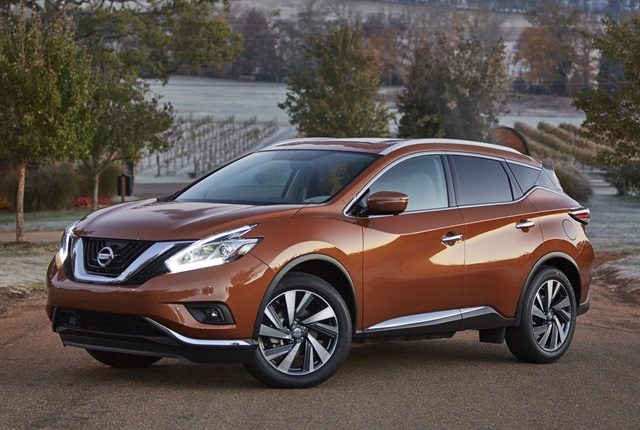Photo of the 2017 Murano courtesy of Nissan.