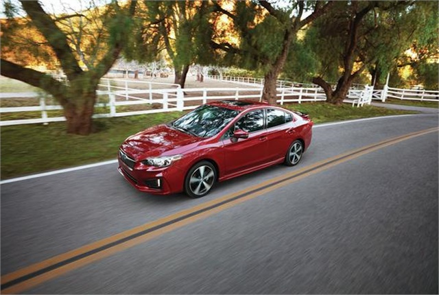 Photo of Subaru Impreza courtesy of Subaru.