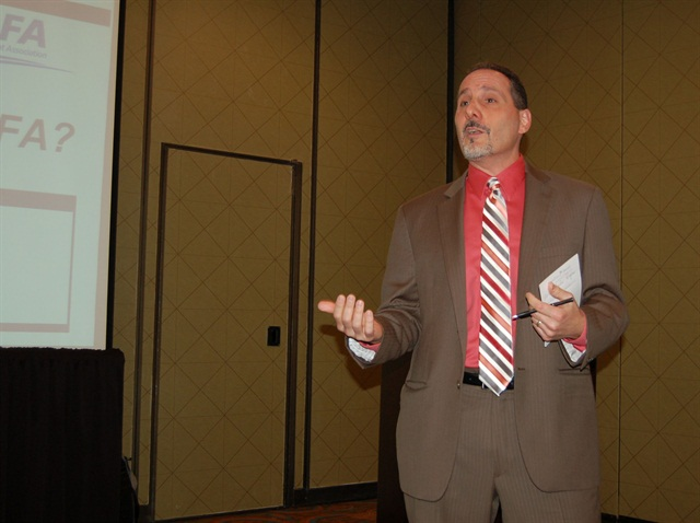 NAFA CEO Phillip Russo presented at the Pacific Southwest Chapter meeting last week.