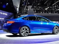 Chrysler: 2015 200 Sedan to Get 35 MPG