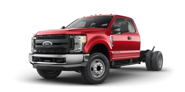 Manufacturing: Ford F-350 Super Duty Chassis Cab 4x2 SuperCab XL (Photo courtesy of Ford Motor Co.)