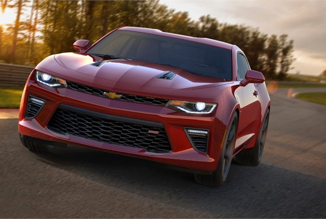 The newly unveiled 2016 Camaro. Photo courtesy of General Motors
