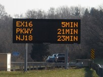 New Jersey DOT Adds Travel-Time Signage for Highways