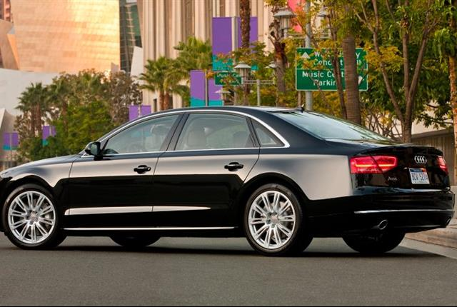Photo of Audi A8 courtesy of Audi.