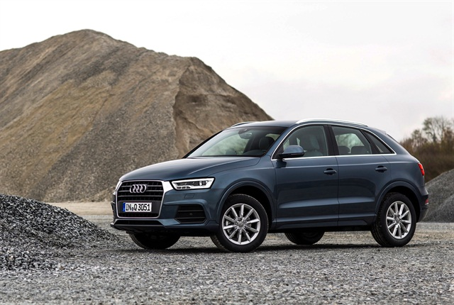 Photo of the 2016 Q3 courtesy of Audi.