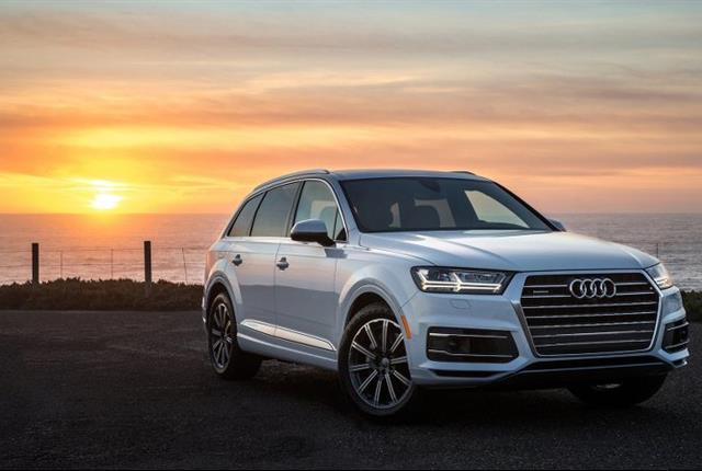 Photo of 2017 Audi Q7 courtesy of Audi.