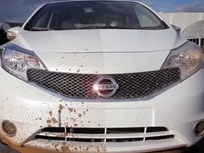 Video: Nissan Tests Dirt-Repelling Paint