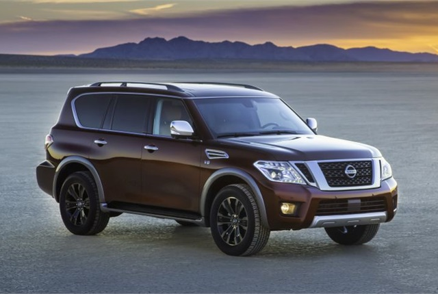 Photo of 2017 Armada courtesy of Nissan.