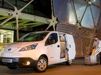 Nissan Begins Production of e-NV200 Electric Van