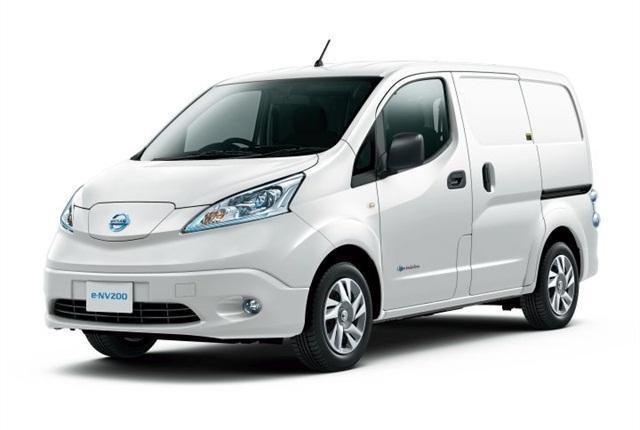 Photo of e-NV200 courtesy of Nissan.