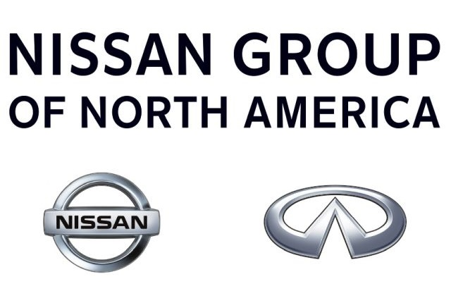Logos courtesy of Nissan.