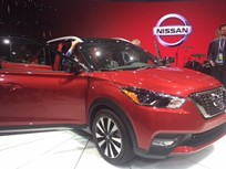 Nissan's 2018 Kicks Debuts as New Entry Utility