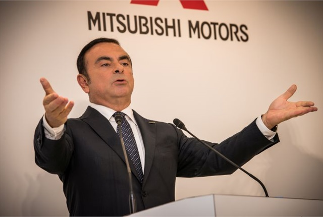 Photo of Carlos Ghosn courtesy of Nissan.