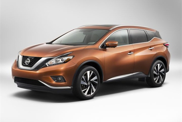 Photo of 2015 Murano courtesy of Nissan.