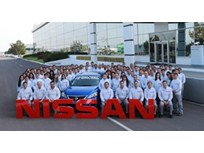 Nissan Mexico's 10 Millionth Vehicle Rolls off Assembly Line
