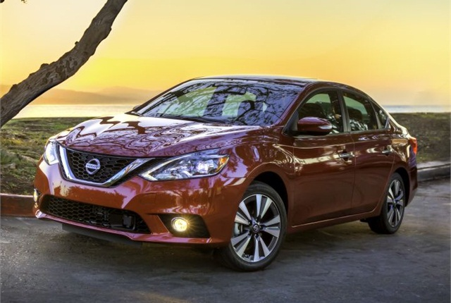 Photo of 2016 Sentra courtesy of Nissan.