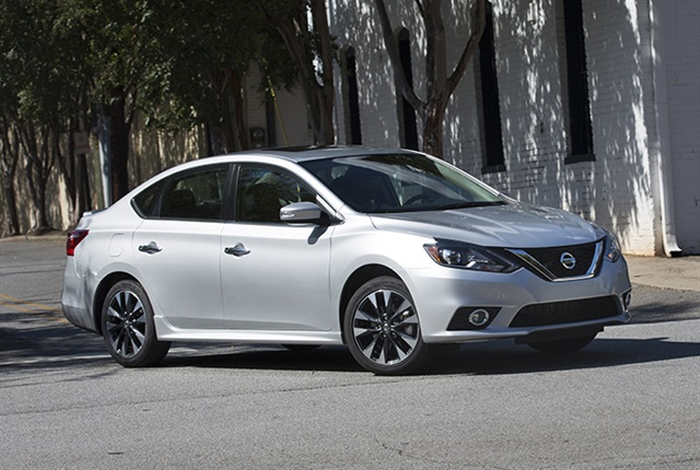 Photo of 2018 Sentra courtesy of Nissan.