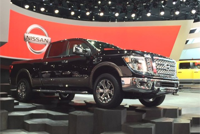 Photo of Nissan Titan XD by Mike Antich.
