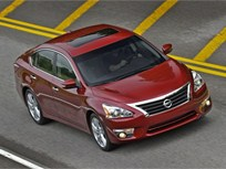 2013 Nissan Altima Earns 5-Star Safety Rating