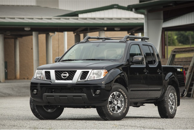 Nissan Frontier photo courtesy of Nissan.