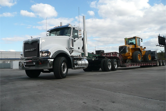 <p><strong>Mack says it will discontinue both the MP10 and its Titan heavy-haul tractor. Taking its place will be versions of the Pinnacle and Granite models. <em>Photo: Tom Berg </em></strong></p>