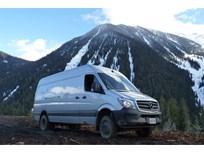 Mercedes-Benz Sprinter 4x4 Goes Off-Road