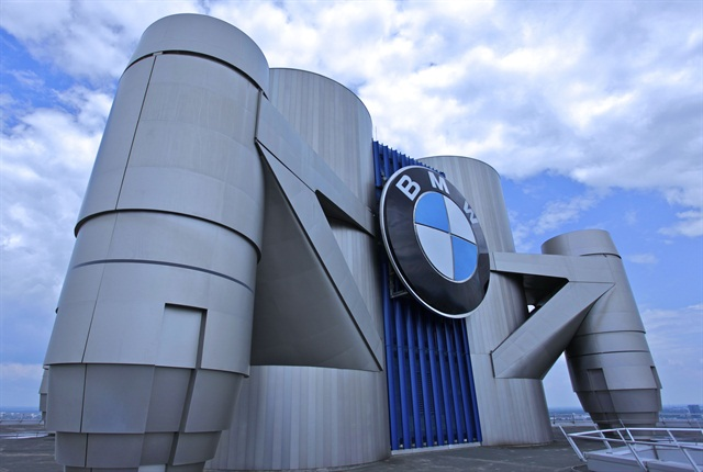 Photo of BMW headquarters in Munich via BMW.
