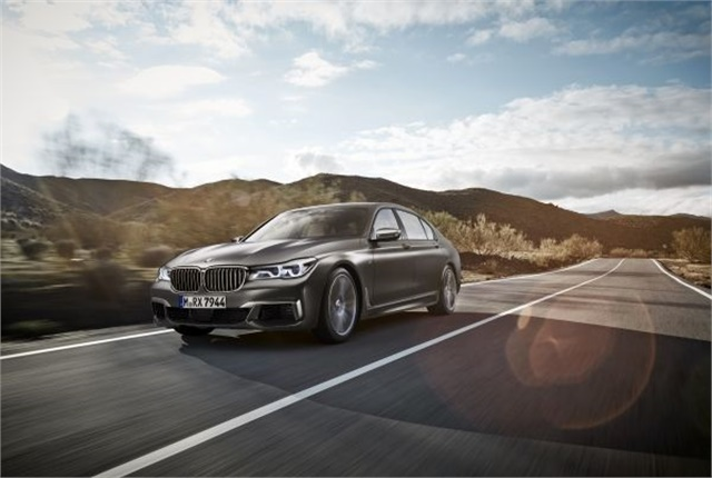 Photo of BMW M760Li xDrive courtesy of BMW.