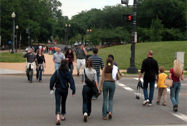 In 2012, pedestrian road deaths increased 6.4 percent. Photo: AAA Foundation for Traffic Safety.