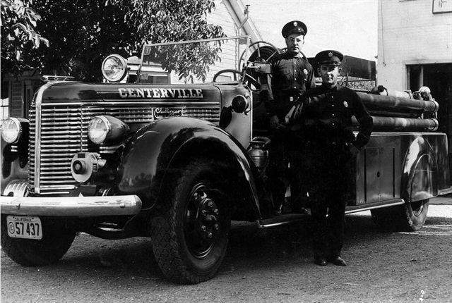 The first Peterbilt truck Serial #S100, a 1939 fire truck, will be displayed at the event. Photo: Peterbilt