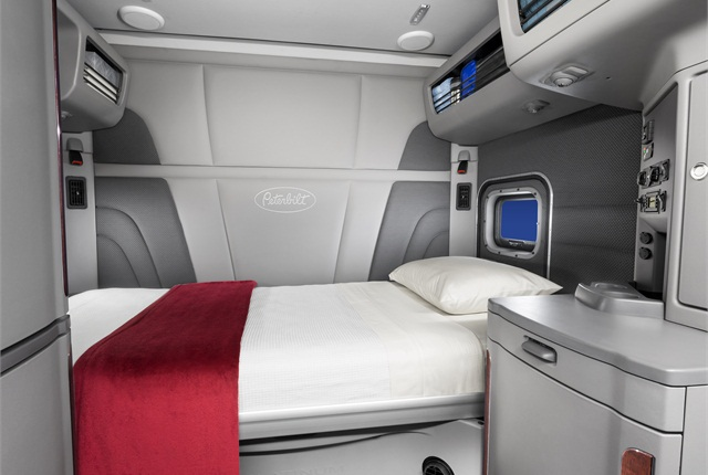 A new 80-inch sleeper with Platinum interior on a Model 579.