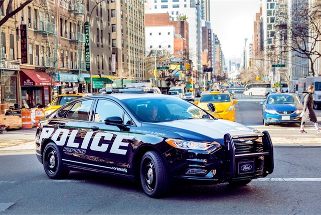 Ford Police Responder Hybrid Sedan. Photo courtesy of Ford