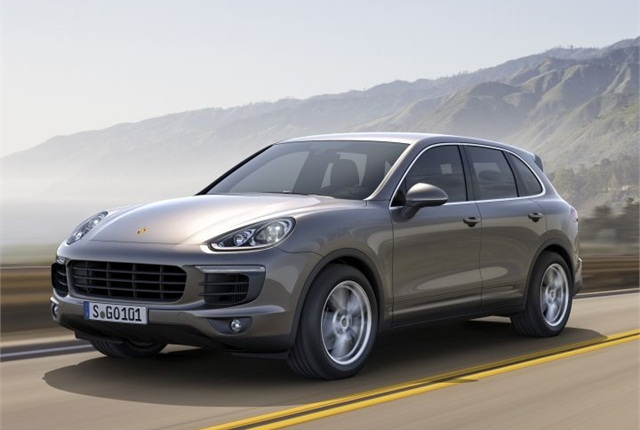 Photo of 2015 Cayenne courtesy of Porsche.