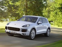 Porsche Brings PHEV Cayenne to Paris