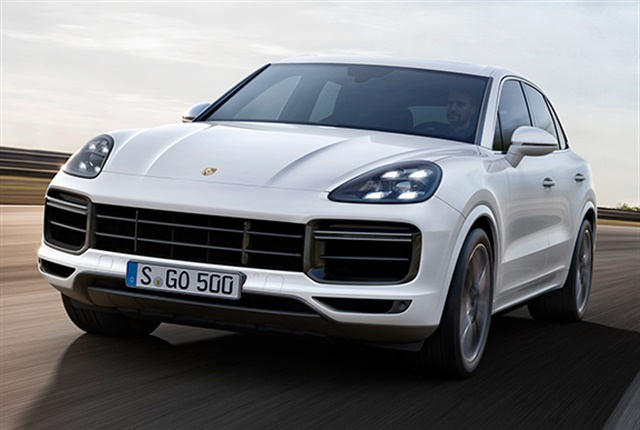 Photo of the 2019 Cayenne Turbo courtesy of Porsche.