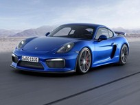 Porsche Introduces Cayman GT4
