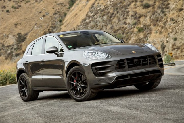 Photo of Macan compact SUV courtesy of Porsche.