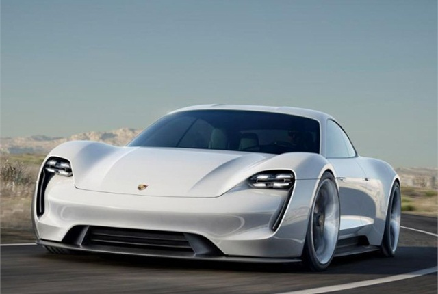 Photo of Mission E courtesy of Porsche.