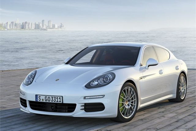 Photo of 2014 Panamera S E-Hybrid courtesy of Porsche.